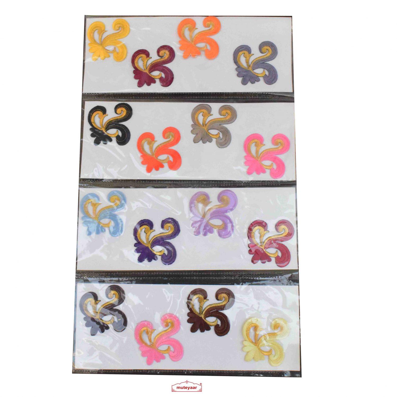 3 inch motif pack of 16 pcs. MT0055
