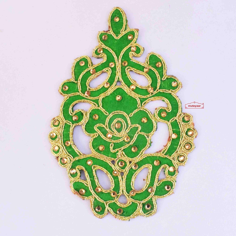 Green Motif Patch MT0059