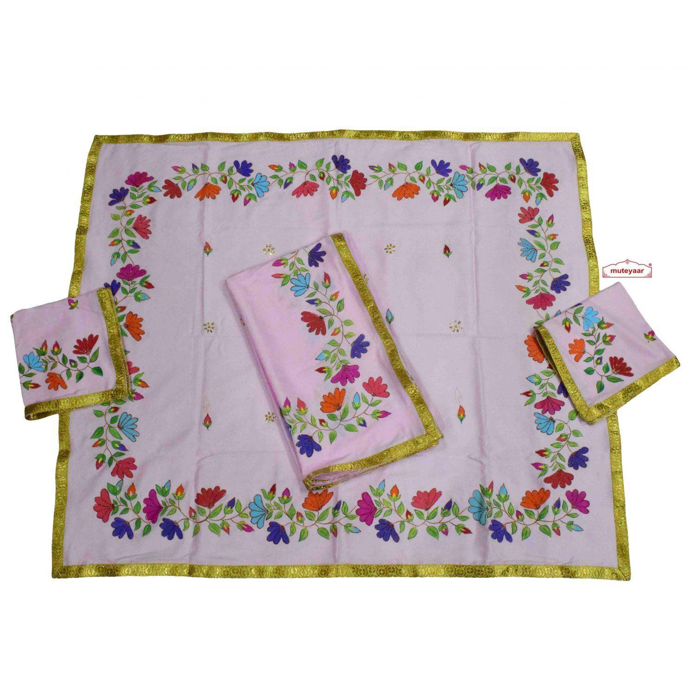 Pink Hand Painted Rumala Set RL009